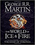 The World of Ice and Fire: The Untold History of Westeros and the Game of Thrones (Song of Ice & Fire) (Hardcover)【2017】by George R.R. Martin (Author), et al. [1865]