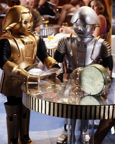 Felix Silla Twiki Robot Buck Rogers in the 25th Century 8x10 Promotional Photograph