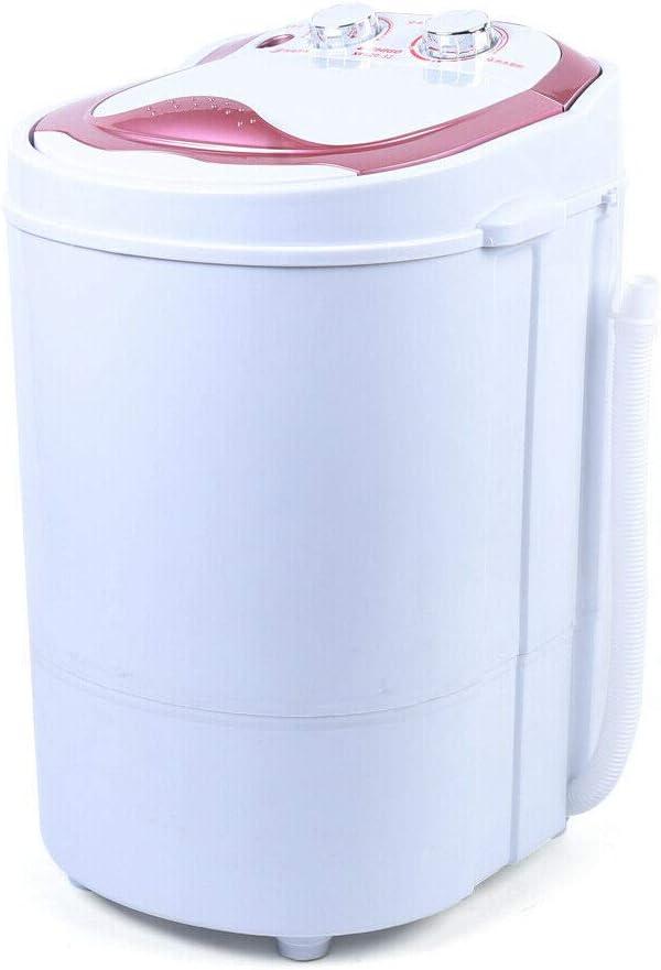 Berkalash Washing Machine 6kg 2-in-1 Mini Washing Machine Home Washing Drainage Machine