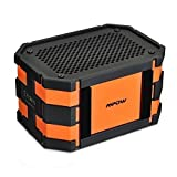 [Waterproof Speaker] Mpow Armor Portable Indoor Outdoor Sport Bluetooth 4.0 Speaker with Emergency Power Surpply for Apple&Android Devices,iPhone 6,6 Plus 5 5S 5c;Samsung Galaxy 4 3;iPad Air 5 4 mini;Nexus 4;LG G2;Motorola HTC One More(Orange)