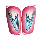 HnjPama Soccer Football Shin Guards Plastic Shin Guards 3 Sizes to be Selected-Pink-M