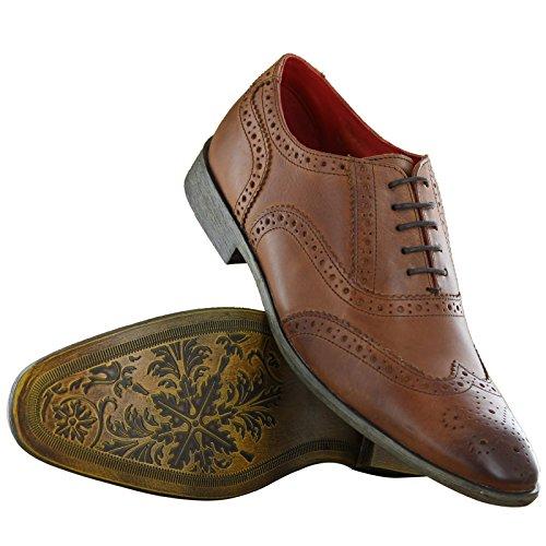 Base London - Zapatos de Vestir hombre Marrón - canela