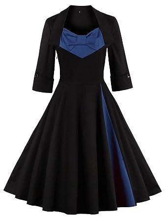 50er jahre kleid mit armel