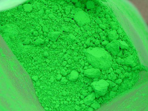 1 OZ NEON GREEN MICA PIGMENT