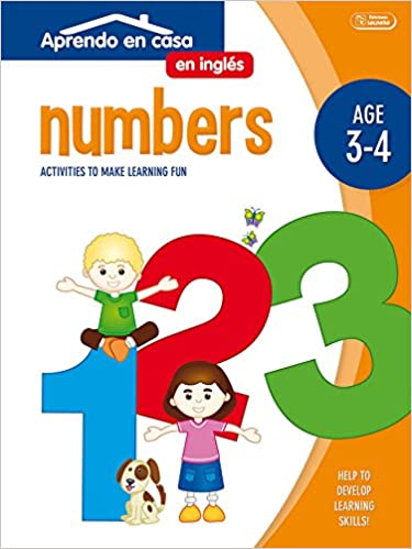 APRENDO EN CASA INGLÉS 3-4 AÑOS : Aprendo En Casa Inglés. Números. 3-4 Años: Amazon.es: PATIMPATAM: Libros en idiomas extranjeros