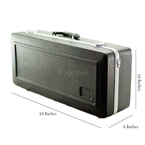 Sky ABS Sturdy Alto Saxophone Case