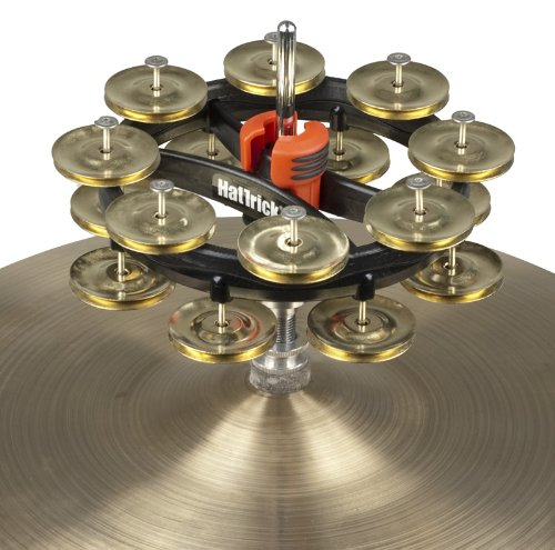 Rhythm Tech The Hat Trick G2 Double Row Brass Jingles (RT7423) by Rhythm Tech