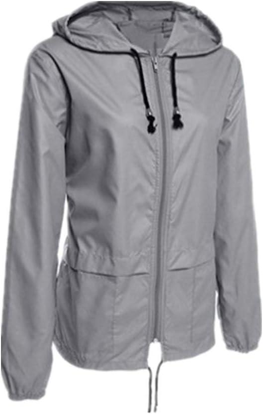 SUYING Poncho Raincoat Imperméable Hommes et Femmes à Capuche légère Raincoat Raincoat Faible Fold Sport Raincoat Gray