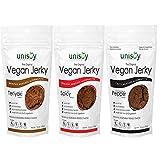 Unisoy Vegan Jerky All 3 Flavors 3 Pack