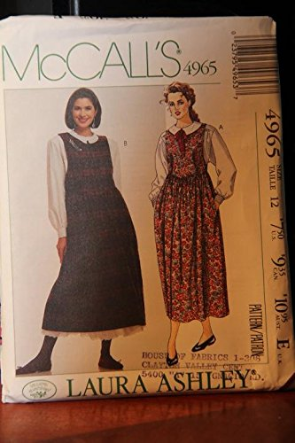 Laura Ashley Jumper - McCall's Pattern 4965 Size 12 / Laura Ashley / Misses' Jumper, Blouse And Petticoat