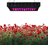 Cheap Rubility® 165W Plant Grow Light LED Light 55 pcs Bulbs with UV IR Indoor Garden Hanging Light