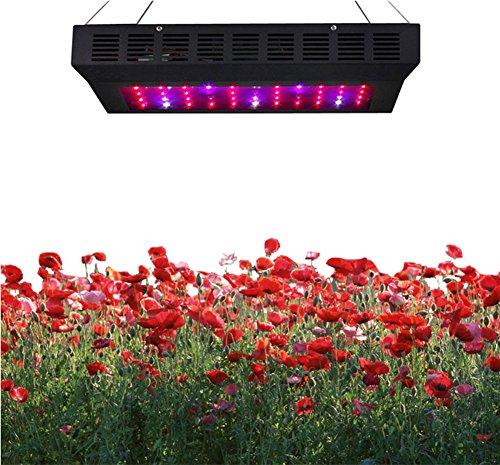 Rubility® 165W Plant Grow Light LED Light 55 pcs Bulbs with UV IR Indoor Garden Hanging Light