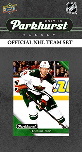 2018 Upper Deck PARKHURST Series Factory Sealed Team Set with Zach Parise, Eric Staal, Luke Kunin Rookie Card plus (Staal Player)