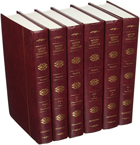 Matthew Henry's Commentary on the Whole Bible (6 Volume Set)