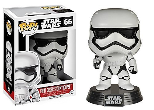 [Funko POP Star Wars 3 3/4 Inch Episode 7 First Order Stormtrooper Action Figure Dolls Toys] (Stormtroopers Outfit)