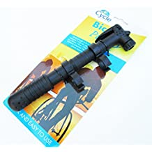Portable Bicycle Bike Tire Hand Air Pump Inflator Light Weight Attach to Frame