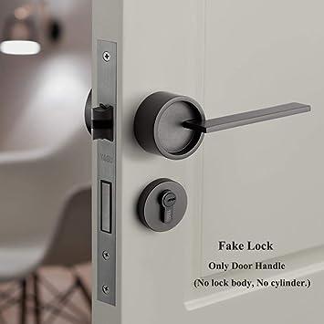 1 Set American Bedroom Lock Handle Security Entry Split Silent Lock Door Core Furniture Internal Door Handle Lockset Amazon Co Uk Diy Tools