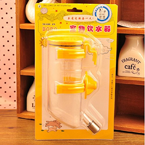 Animal Drinking Device ,No Drip Dog Water Bottle,YELLOW by Panda Superstore (Image #1)
