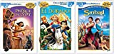 Dreamworks 3-Movie Animated Classics Bundle - The Prince of Egypt, Sinbad, & The Road to El Dorado Triple feature DVD Set