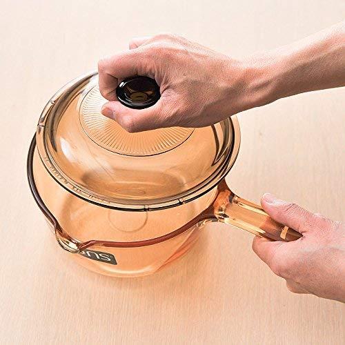 Visions Barras de cristal cerámico Pyroceram (1 L), color marrón: Amazon.es: Hogar