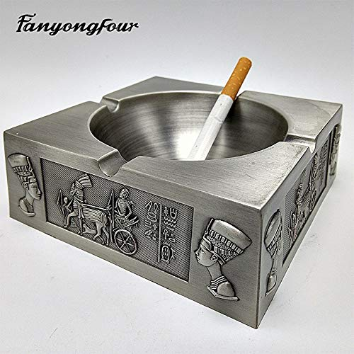 PlenTree 3D Ancient Egypt Pharaoh Ashtray Cement Mold Mold Gypsum Chocolate Candle Soap Kitchen Baking by PlenTree (Image #1)