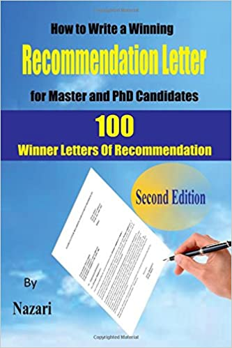 amazon how to write a winning recommendation letter for master and
