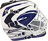 Bauer Senior Street Hockey Goalie Mask (Blue/White)