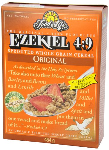 Food For Life Ezekiel 4:9 Organic Sprouted Whole Grain Cereal, Original, 16-Ounce Boxes (Pack of 6) by Food for Life (Image #6)