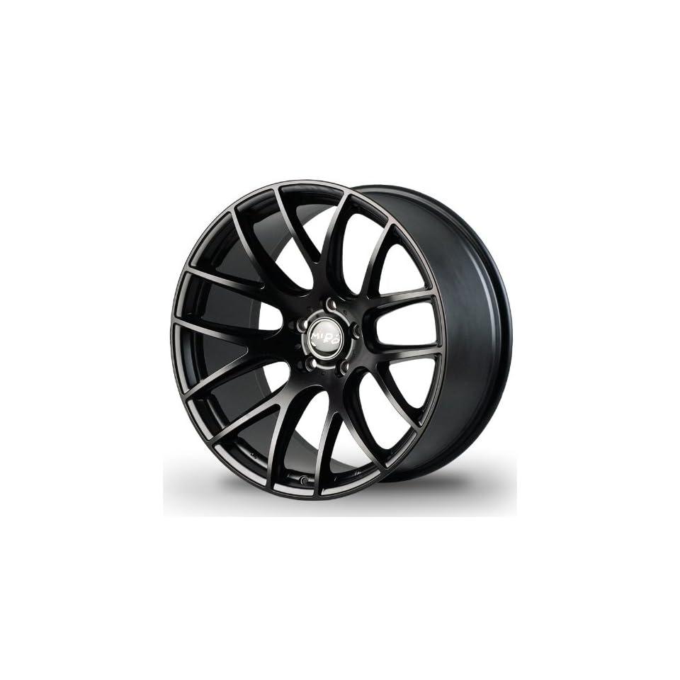 Miro Type111 19x8.5 19x9.5 BMW 325 328 335 Mercedes benz Nissan Infiniti Lexus Custom Wheel Matte Black