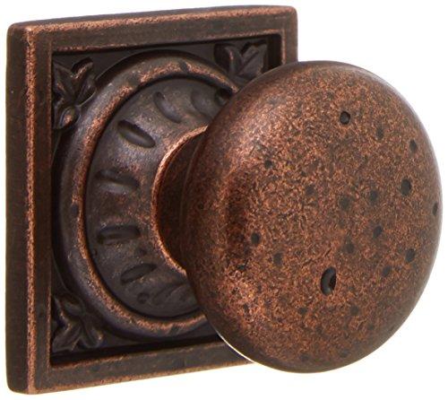 Euro Stone Ambrosia Knob - Rustic Bronze (Set of 10) Amerock Ambrosia Knob