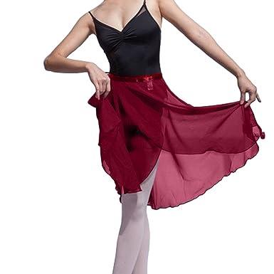 Hoerev adulto envoltura envuelta falda de ballet danza de ballet ...