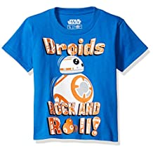 Mad Engine boys Star Wars Episode 7 BB-8 Roll With It Boys T-Shirt Medium (5/6)