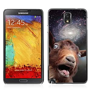 iKiki-Tech Hard Case Cover for Samsung Galaxy Note 3 - Funny Space Goat Meme