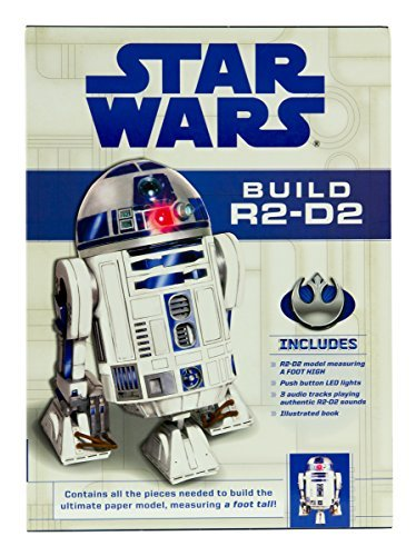 Build Your Own 3D Paper Figure from Star Wars - DIY Construction Kit for All Ages (R2-D2)]()