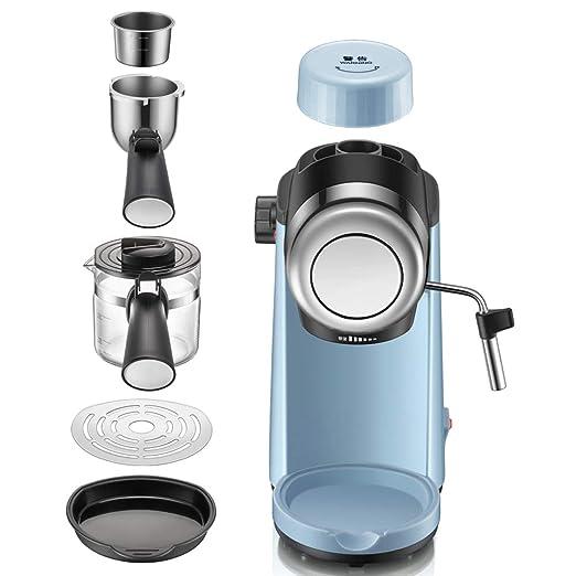 Máquina de espresso, Cafetera Espresso Steam & Pump 5 bar de ...