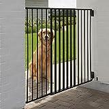 Divisorio regolabile per cani di taglia media o grande, con porta di passaggio per il padrone e 2 chiusure di sicurezza DA ESTERNO OUTDOOR