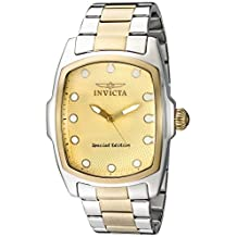 Invicta Men's 15853SYB Lupah Analog Display Quartz Two Tone Watch