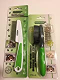 Pixikko 2-PC Pet Grooming Set: Flea Comb + Pin
