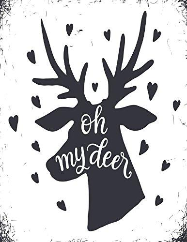 Download Oh My Deer: Journal Unlined Large pdf epub