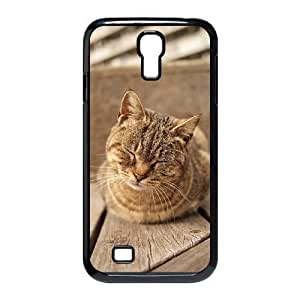 Beautiful Cute Cat Brand New Cover Case with Hard Shell Protection for SamSung Galaxy S4 I9500 Case lxa#862216