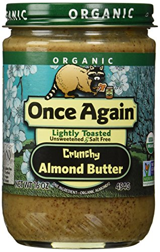 Once Again Organic Almond Butter, Crunchy, 16 Ounce