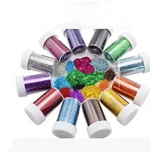 Hilai glitter shaker per bambini per creazioni