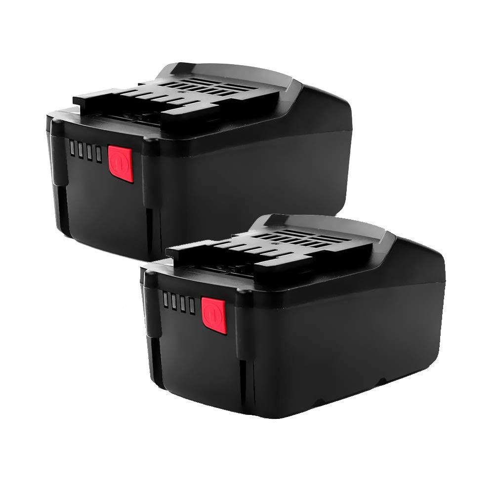 Cellonic 2X Batteria (18V, 3Ah, Li-Ion) Compatibile con Metabo RC 14.4-18   ULA 14.4-18   ASE 18 LTX BF 18 LTX 90   BHA 18 LT BHA 18 LTX - 6.25455,6.25457,6.25468,6.25469 Batterie di Ricambio