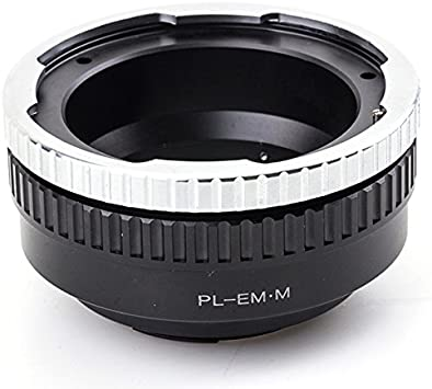 Pixco Lens Adapter for Adjust Aperture Canon EOS EF Lens to EOS M50 M6 M5 M10 M3 M2 Mirrorless Camera Adapter