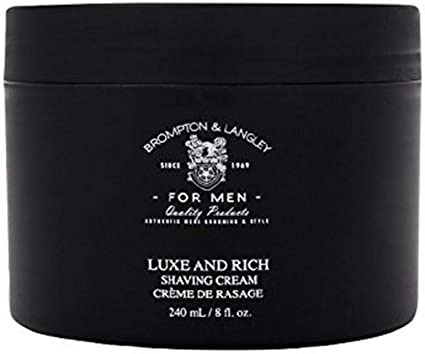 Amazon Com Brompton Langley Men S Rich And Luxe Shaving Cream
