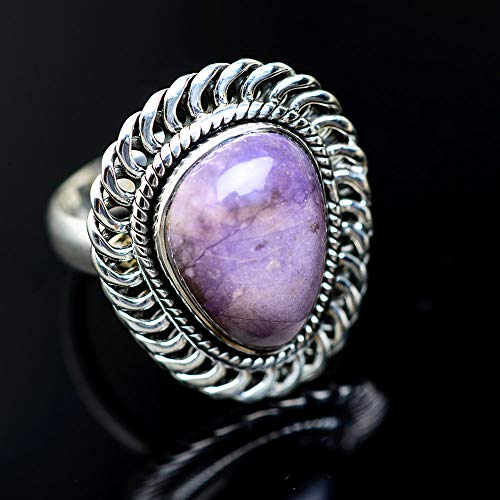 - Ana Silver Co Tiffany Stone 925 Sterling Silver Ring Size 8 (925 Sterling Silver) - Handmade Jewelry, Bohemian, Vintage RING948347