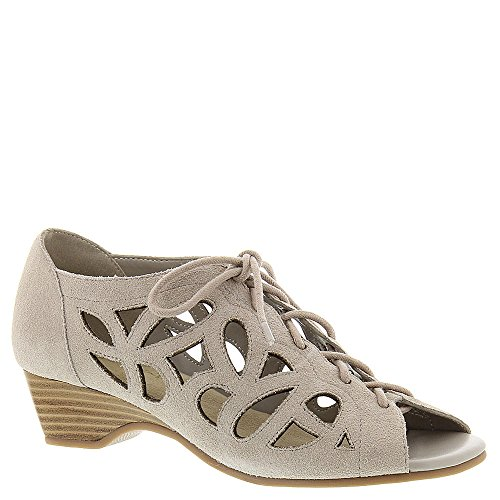 Bella Vita Frauen Pixie Offener Zeh leger Knoechel Riemen Sandalen Cloud Suede Leather