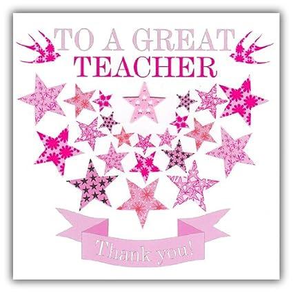Claire Giles - Tarjetas de agradecimiento para profesor ...