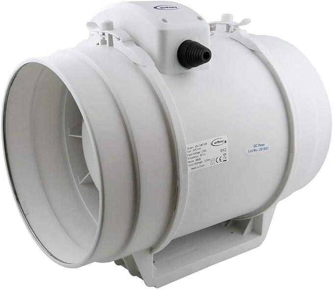 200mm Ventilación Conducto Ventilador Industrial aRil Extractor ...