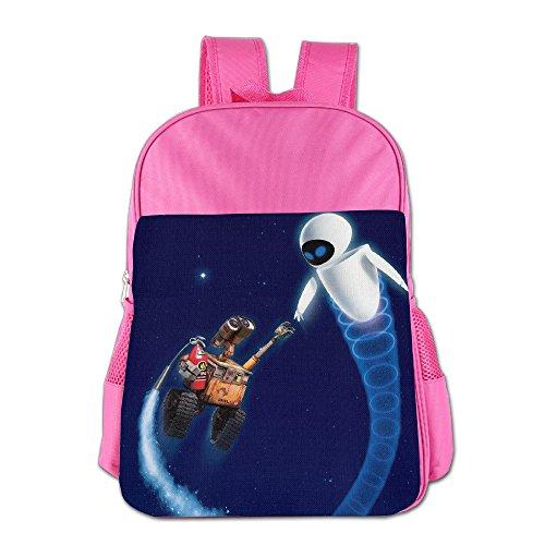 Wall-E Children School Bag Pink